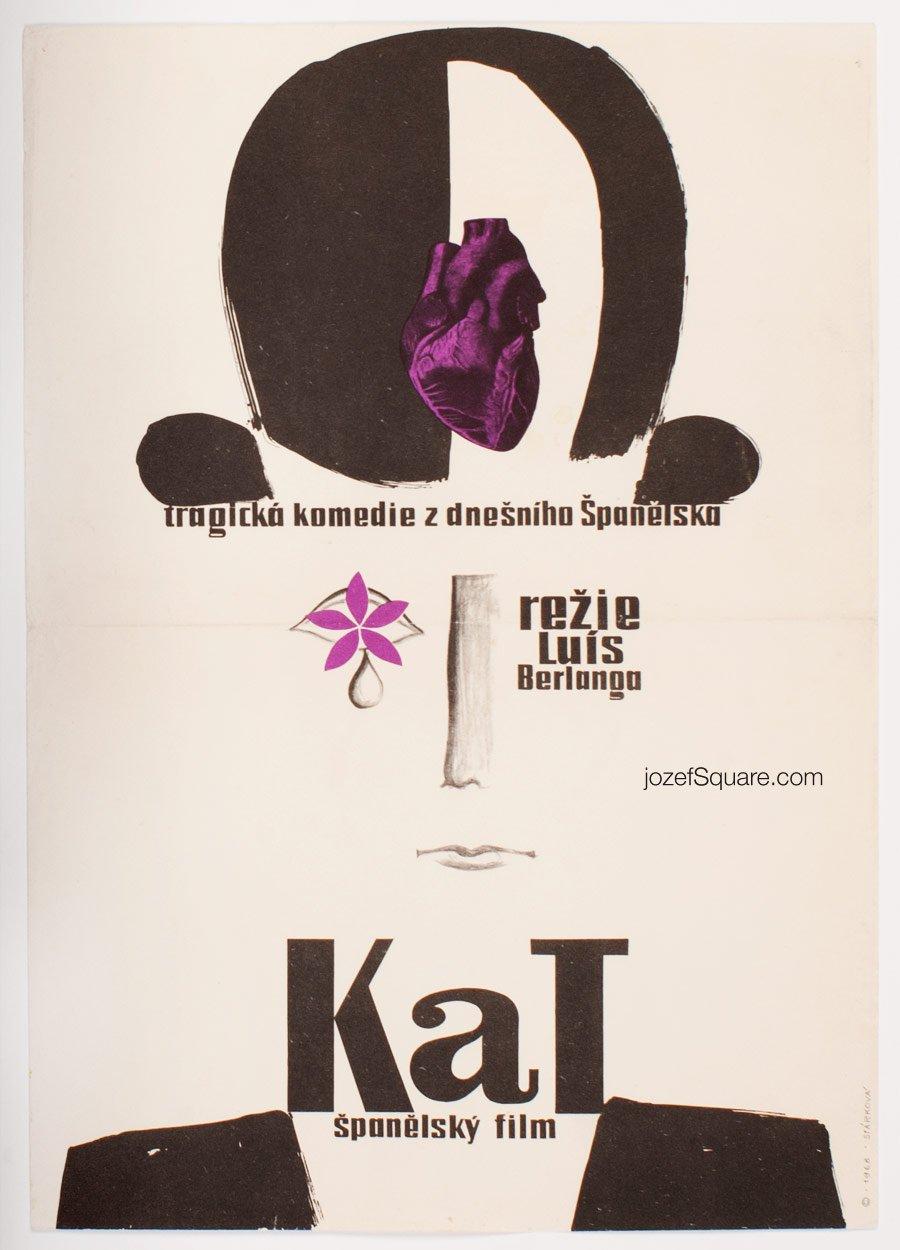 Movie Poster, The Executioner, Luis Garcia Berlanga