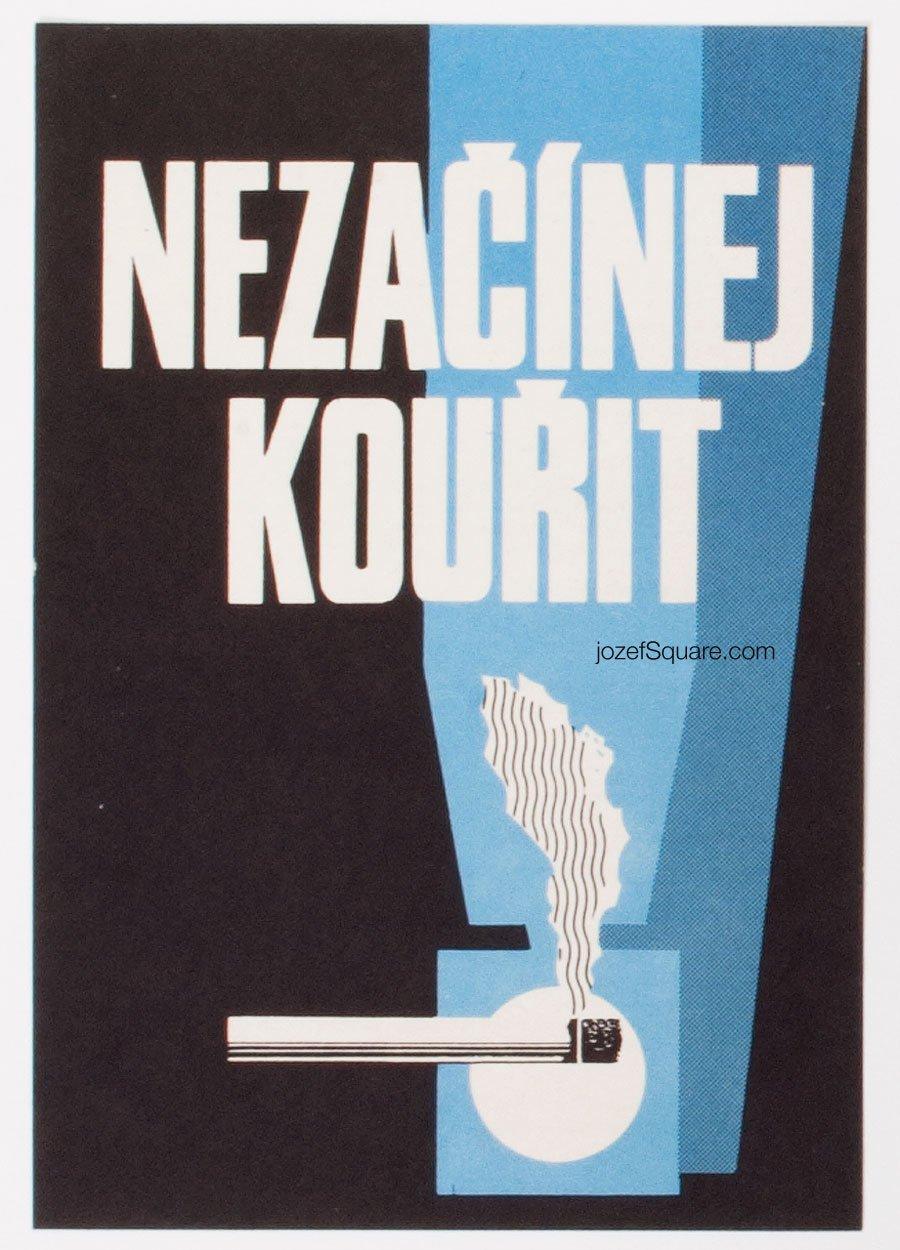 Advertising Poster - Don't Start Smoking, Unknown Artist, 1979