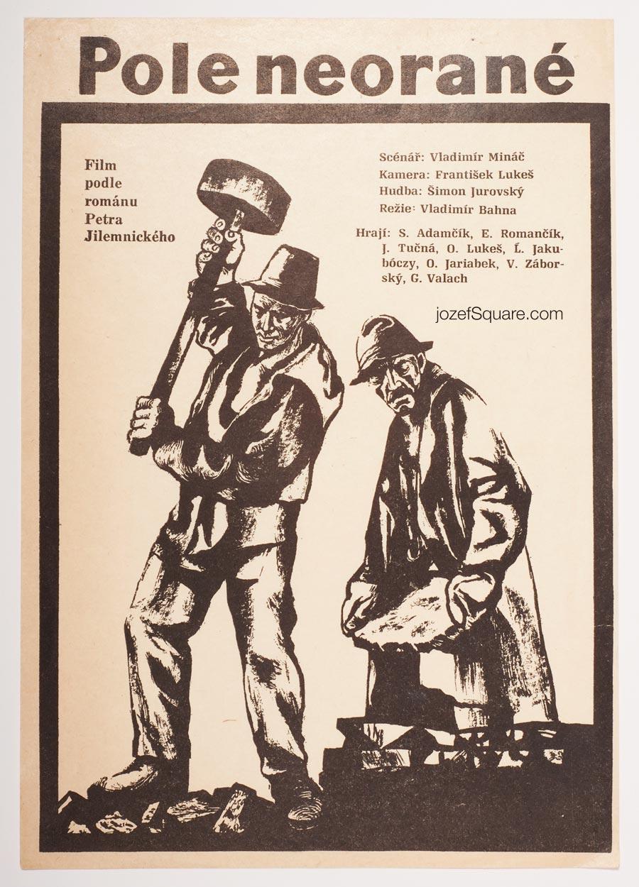Movie Poster, Untilled Field, Unknown Artist