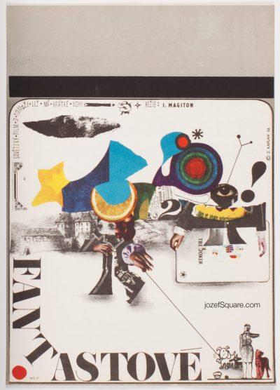 Surreal Movie Poster, Fantasizing, Zdenek Kaplan