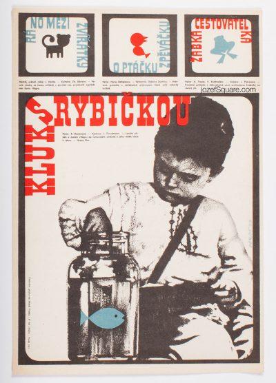 Movie Poster, Boy with Little Fish, Alexej Jaros