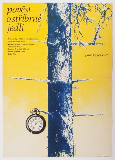 Movie Poster, Legend of the Silver Fir, Frantisek Vlacil