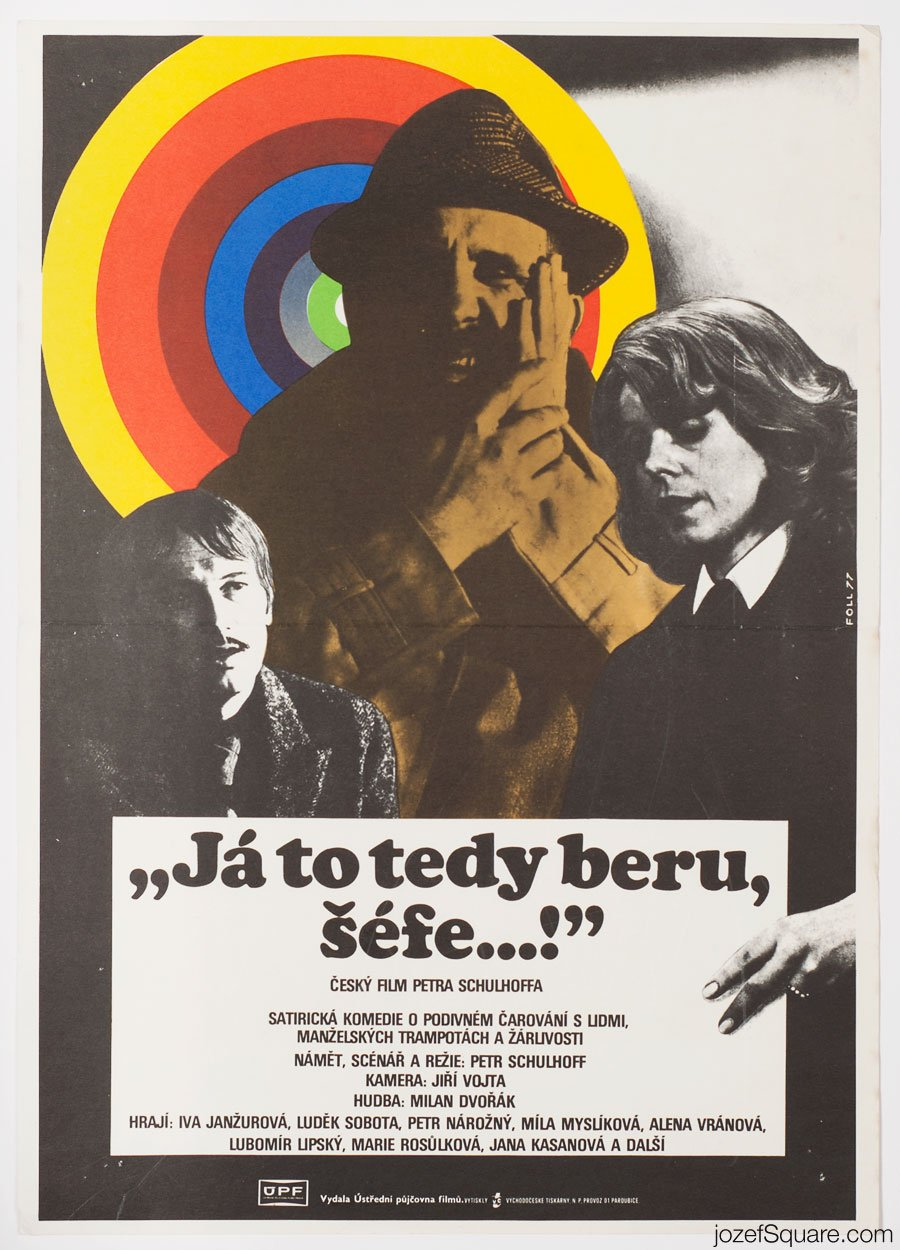 Movie Poster, Okay, Boss, Dobroslav Foll
