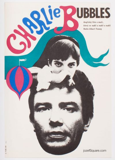 Movie Poster, Charlie Bubbles, Albert Finney