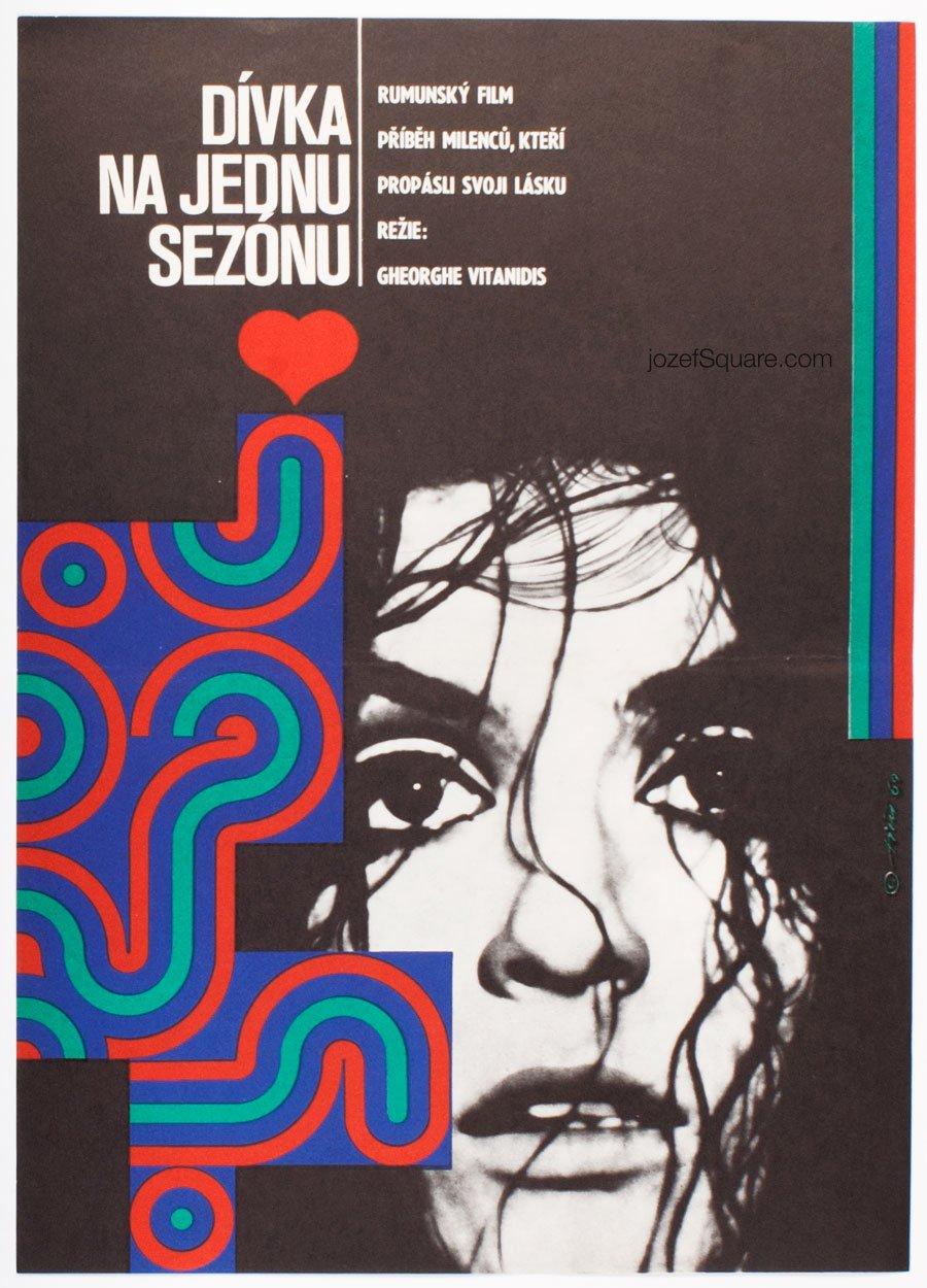 Movie Poster, Malicious Adolescent, Jaroslav Fiser