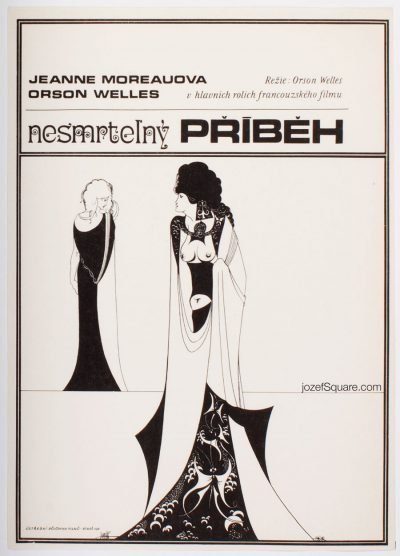 Movie Poster, The Immortal Story, Josef Vyletal