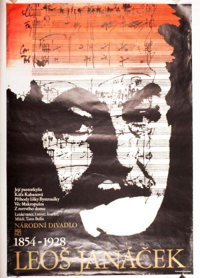 Theatre Poster, Leos Janacek 1854 - 1928, Karel Misek