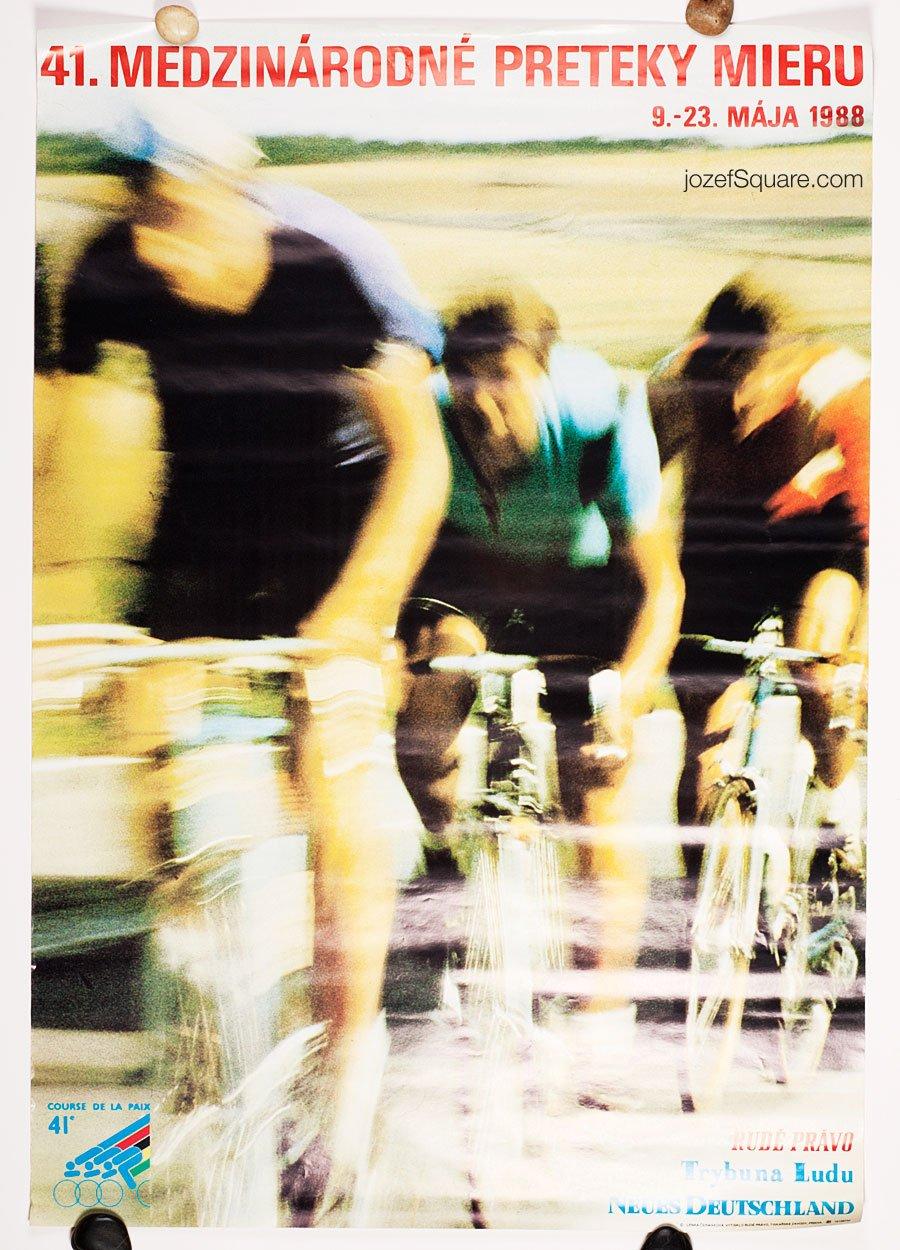 Cycling Poster, 41st Course de la Paix / The Peace Race