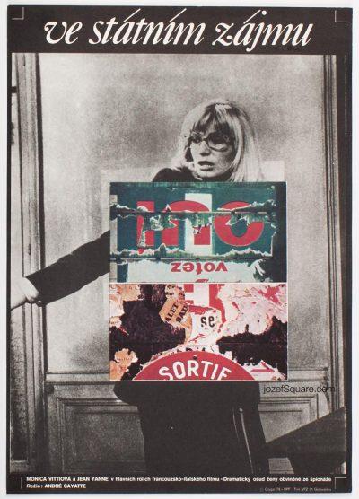Movie Poster, State Reasons, Monica Vitti