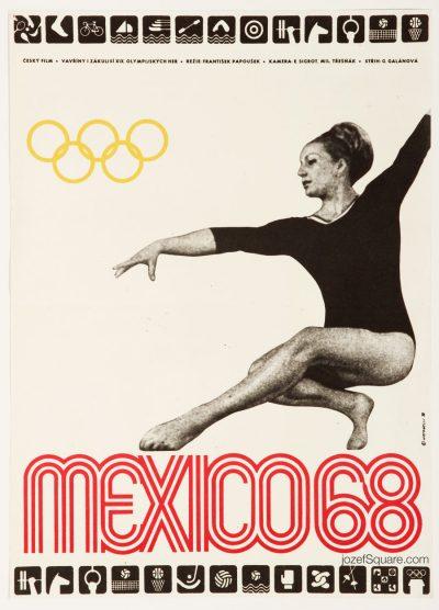 Movie Poster, Mexico 68, Otto Matanelli