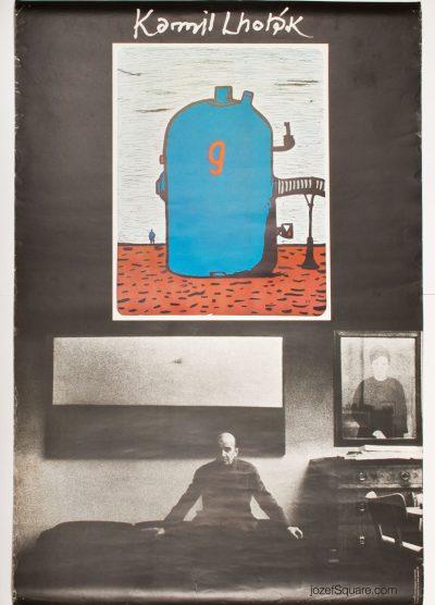 Exhibition Poster, Kamil Lhotak, Pavel Jasansky