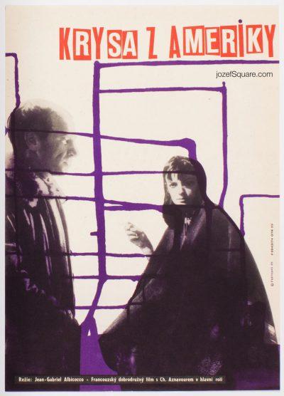 Movie Poster, Rat Trap, Richard Fremund