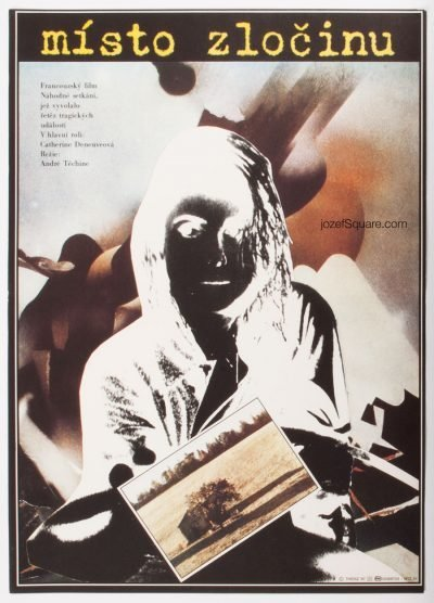 Movie Poster, Scene of the Crime, Stefan Theisz