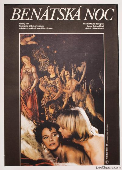 Movie Poster, The Venetian Woman, Mauro Bolognini