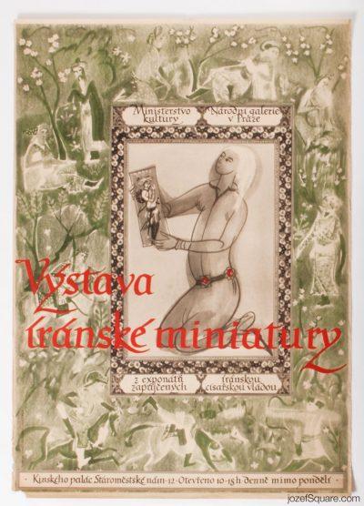 Exhibition Poster, Iranian Miniatures