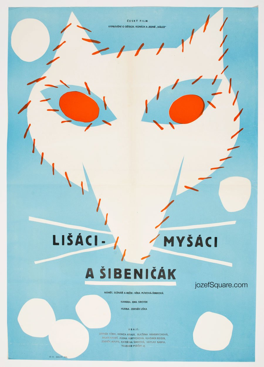 Movie Poster, Lisaci Mysaci a Sibnicak, Unknown Artist
