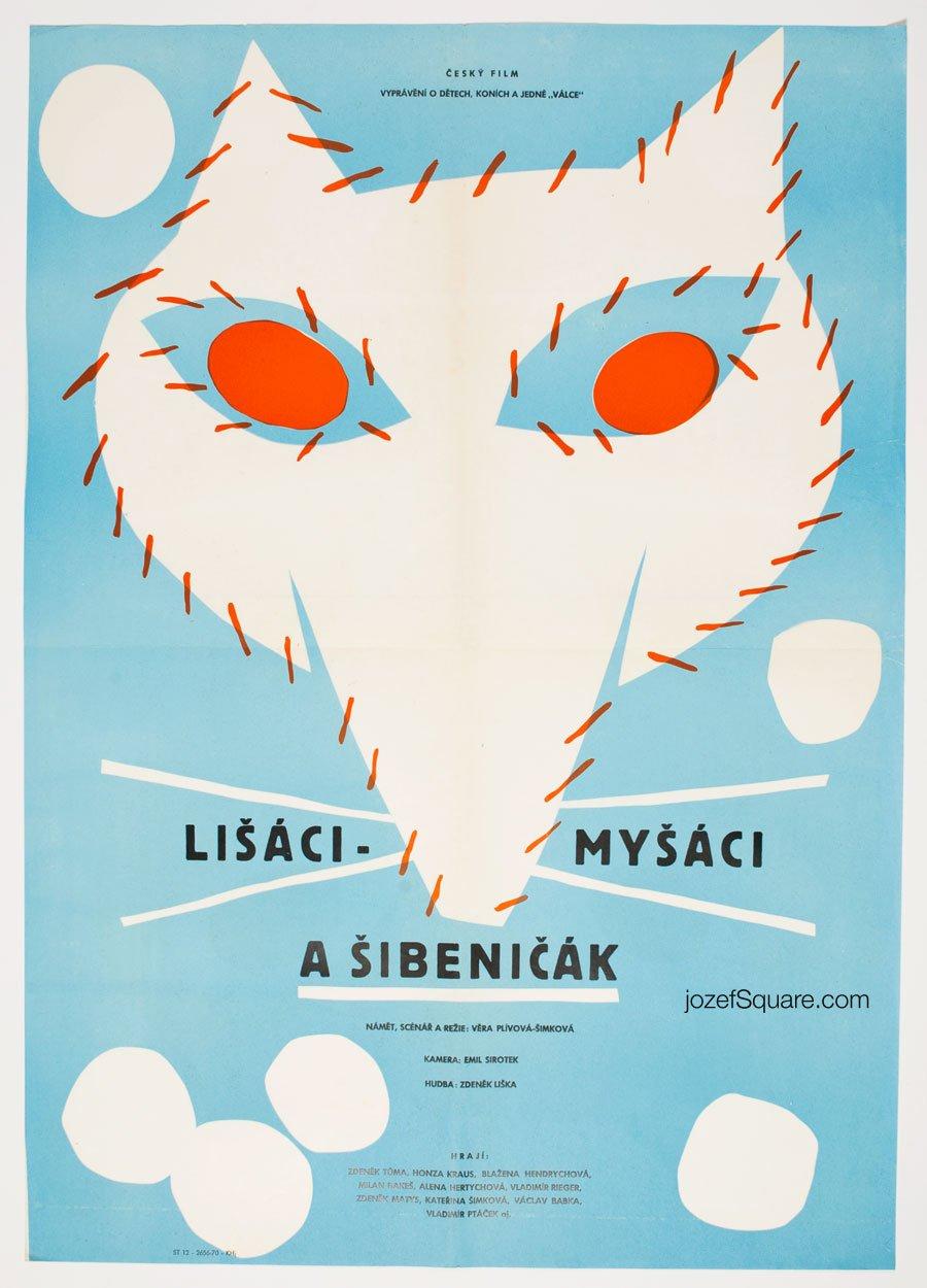 Movie Poster, Lisaci Mysaci a Sibnicak, Unknown Artist