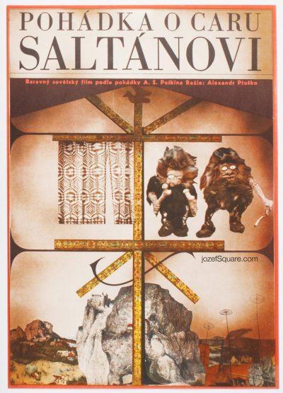 Movie Poster, Tale of Tsar Saltan, Unknown Artist