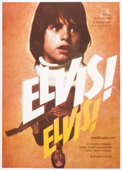 Movie Poster, Elvis Elvis, Vladimir Benetka