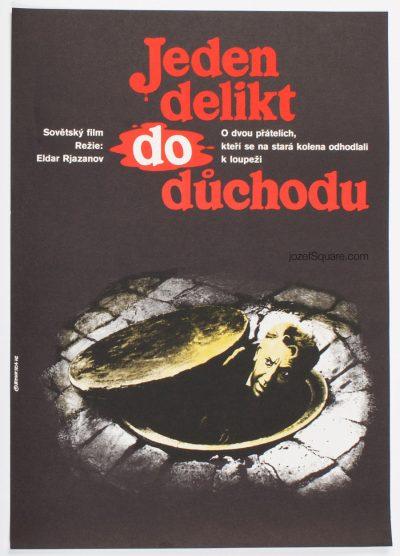 Movie Poster, Old Robbers, Vladimir Benetka