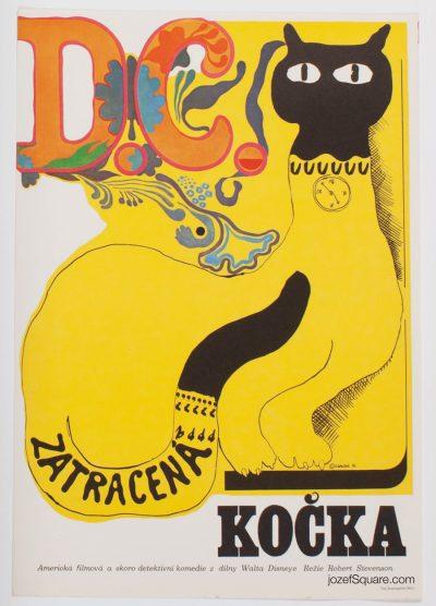 Movie Poster, That Darn Cat, Eva Galova-Vodrazkova