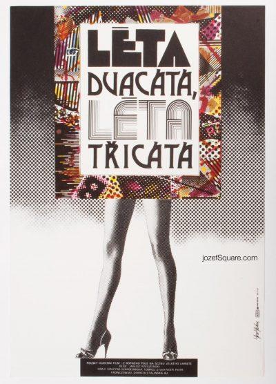 Movie Poster, Twenties, Thirties, Jan Jiskra