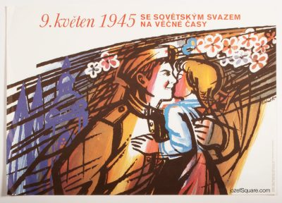 Propaganda Poster, 9th of May, 1945, Jan Lidral