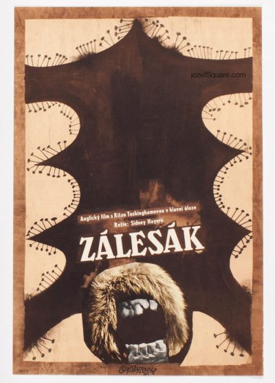 Movie Poster, The Trap, Karel Teissig