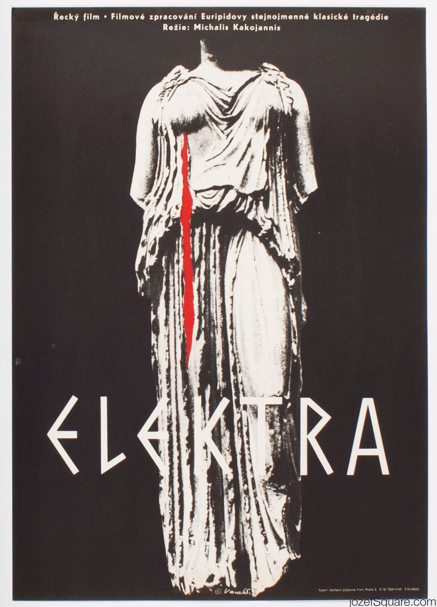 Movie Poster, Electra, Karel Vaca