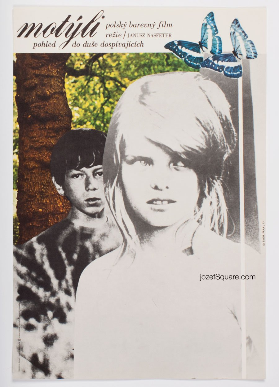 Movie Poster, Butterflies, Libor Fara
