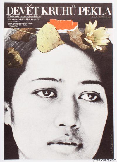 Movie Poster, Nine Circles of Hell, Milan Grygar