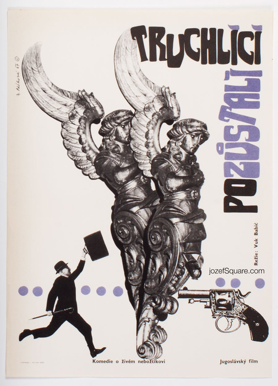 Movie Poster, Before the War, Nadezda Blahova
