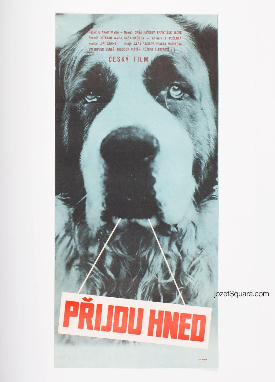 Movie Poster, I'll Be Right Over, Otakar Vavra