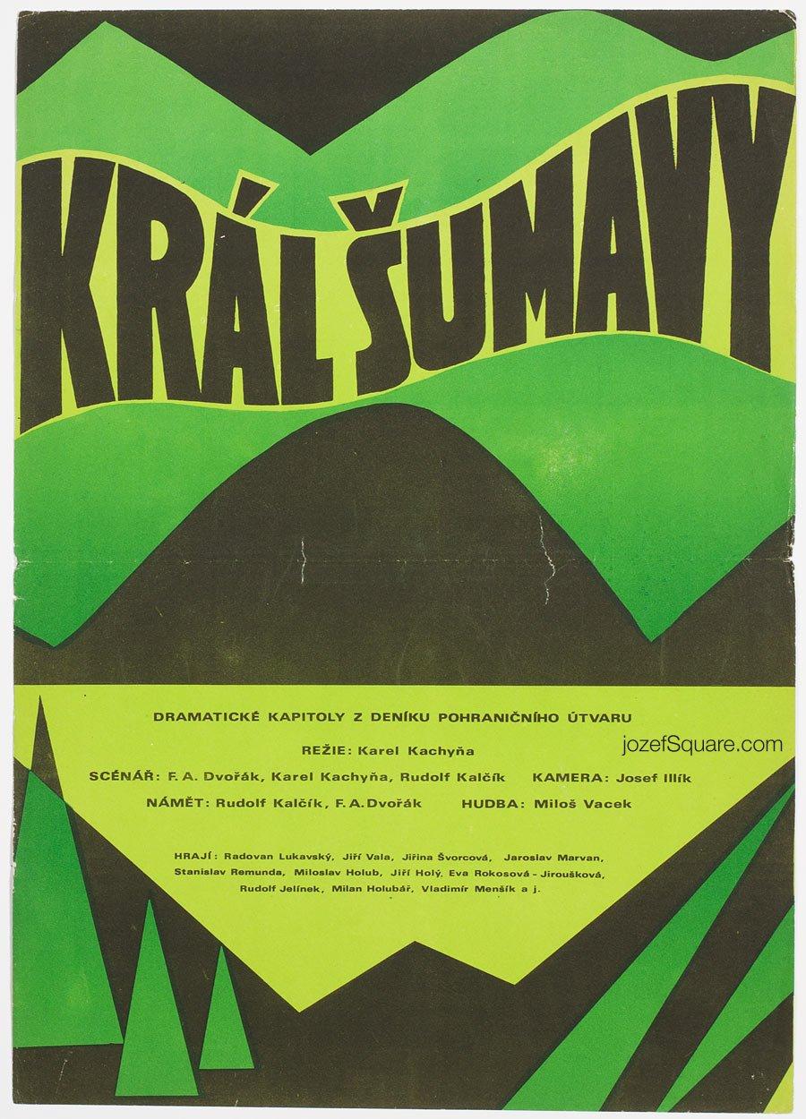Movie Poster, Smugglers of Death, Karel Kachyna
