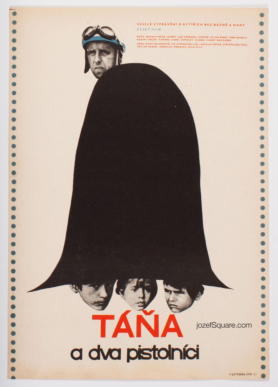 Movie Poster, Tana and Two Gunmen, Vaclav Blaha