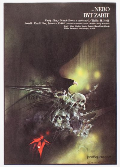 Movie Poster, Or to Be Killed, Zdenek Vlach
