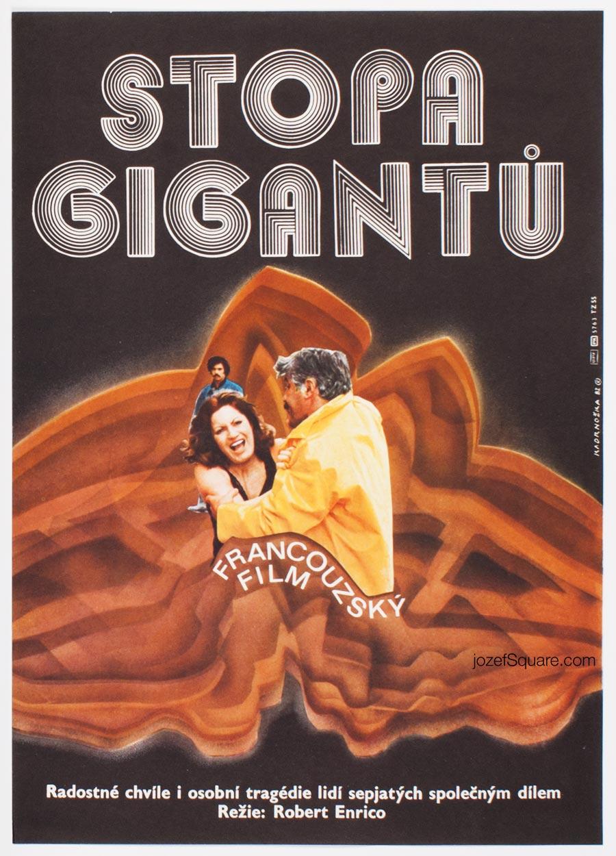 Abstract Movie Poster, Imprint of Giants, Dimitrij Kadrnozka