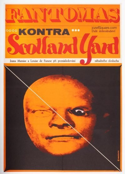 Movie Poster, Fantomas vs. Scotland Yard, Eva Galova-Vodrazkova