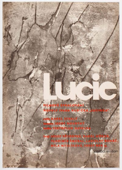Movie Poster, Lucie, Jan Kubicek