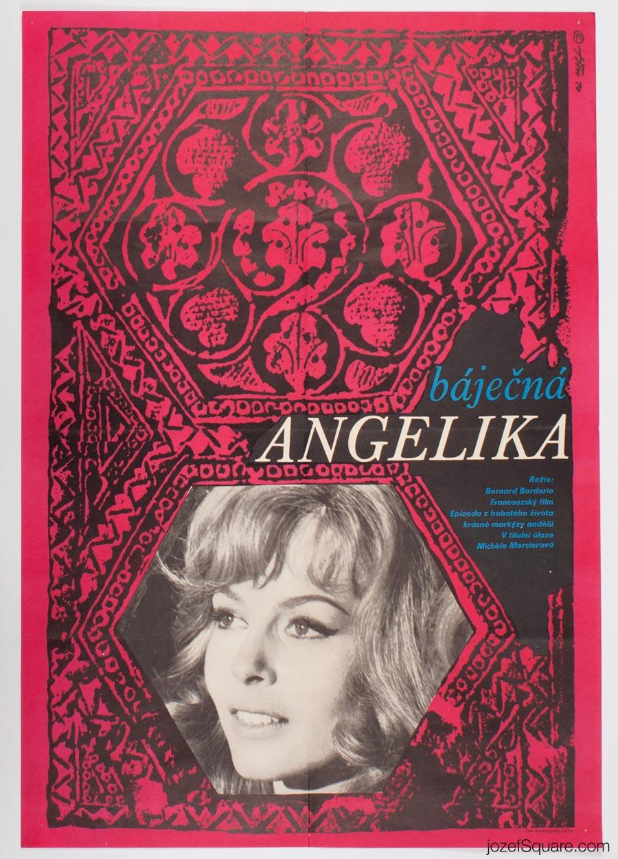 Movie Poster, Marvellous Angelique, Jaroslav Fiser