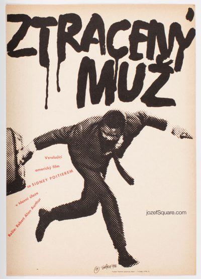 Movie Poster, The Lost Man, Sidney Poitier, Jaroslav Sura
