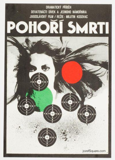 Movie Poster, Rage of War, Jane Birkin, Karel Vaca
