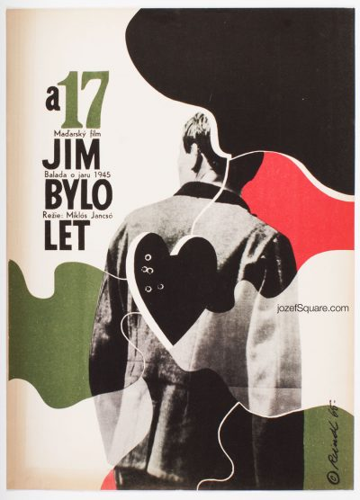 Movie Poster, My Way Home, Milos Reindl