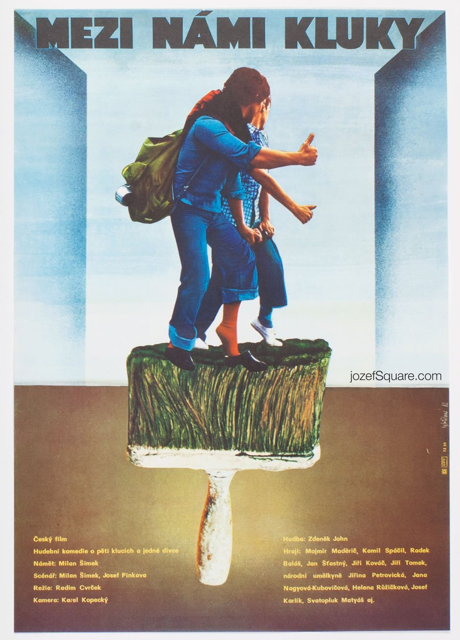 Movie Poster, Boys Only, Olga Polackova-Vyletalova