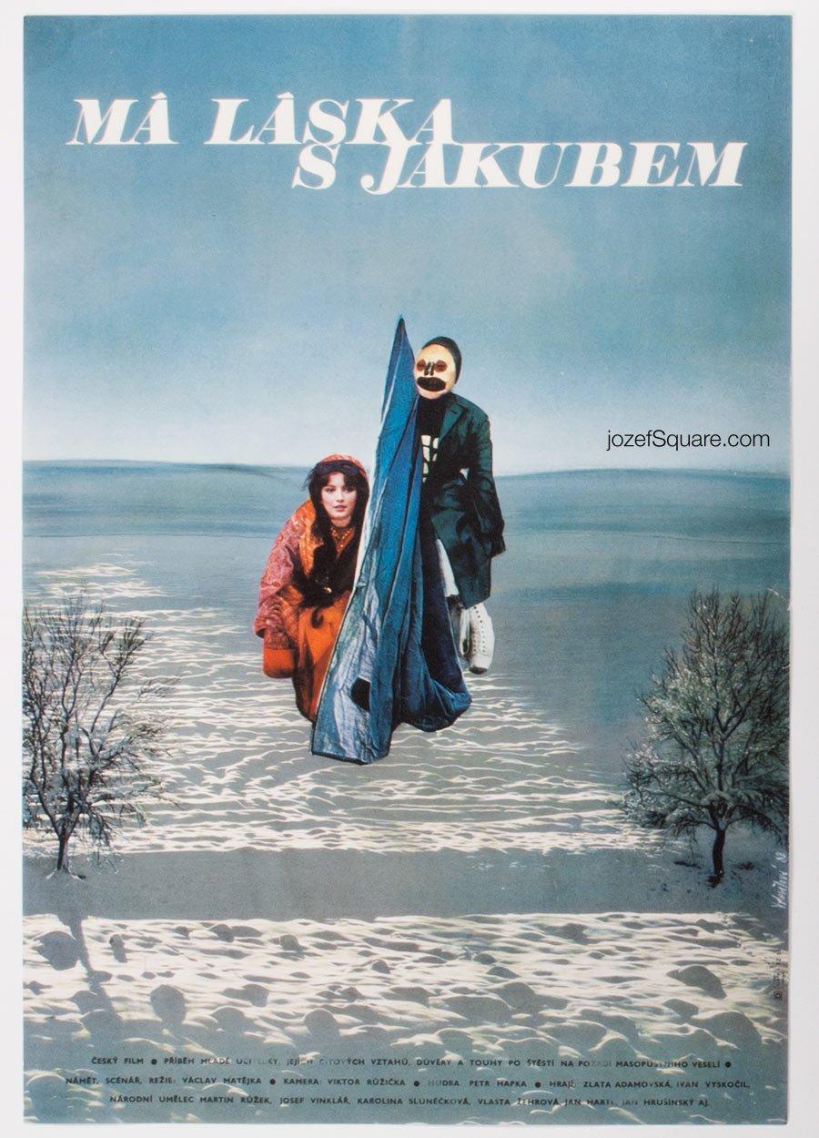 Movie Poster, My Love for Jacob, Olga Polackova-Vyletalova