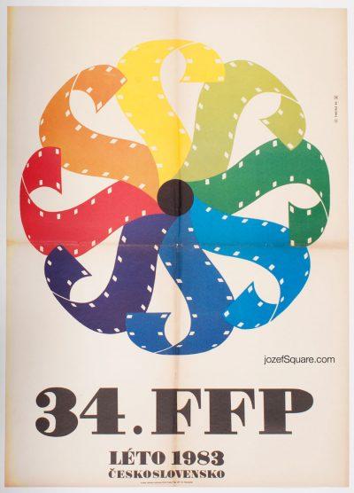 Film Festival Poster, Workers Film Festival, Summer 1983