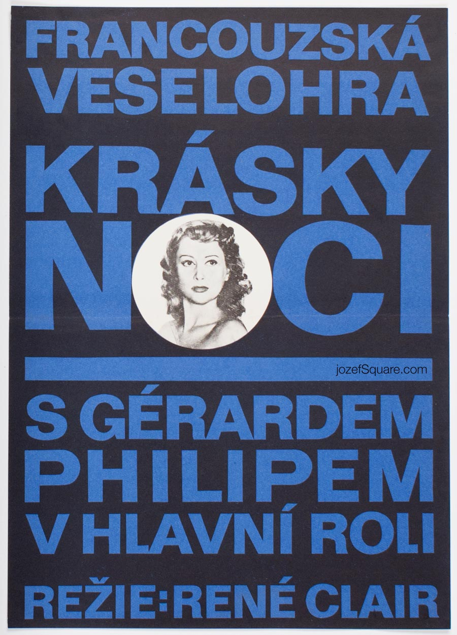 Movie Poster, Beauties of the Night, Rene Clair
