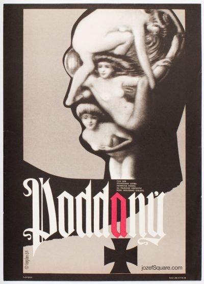 Movie Poster, Man of Straw, Zdenek Kaplan