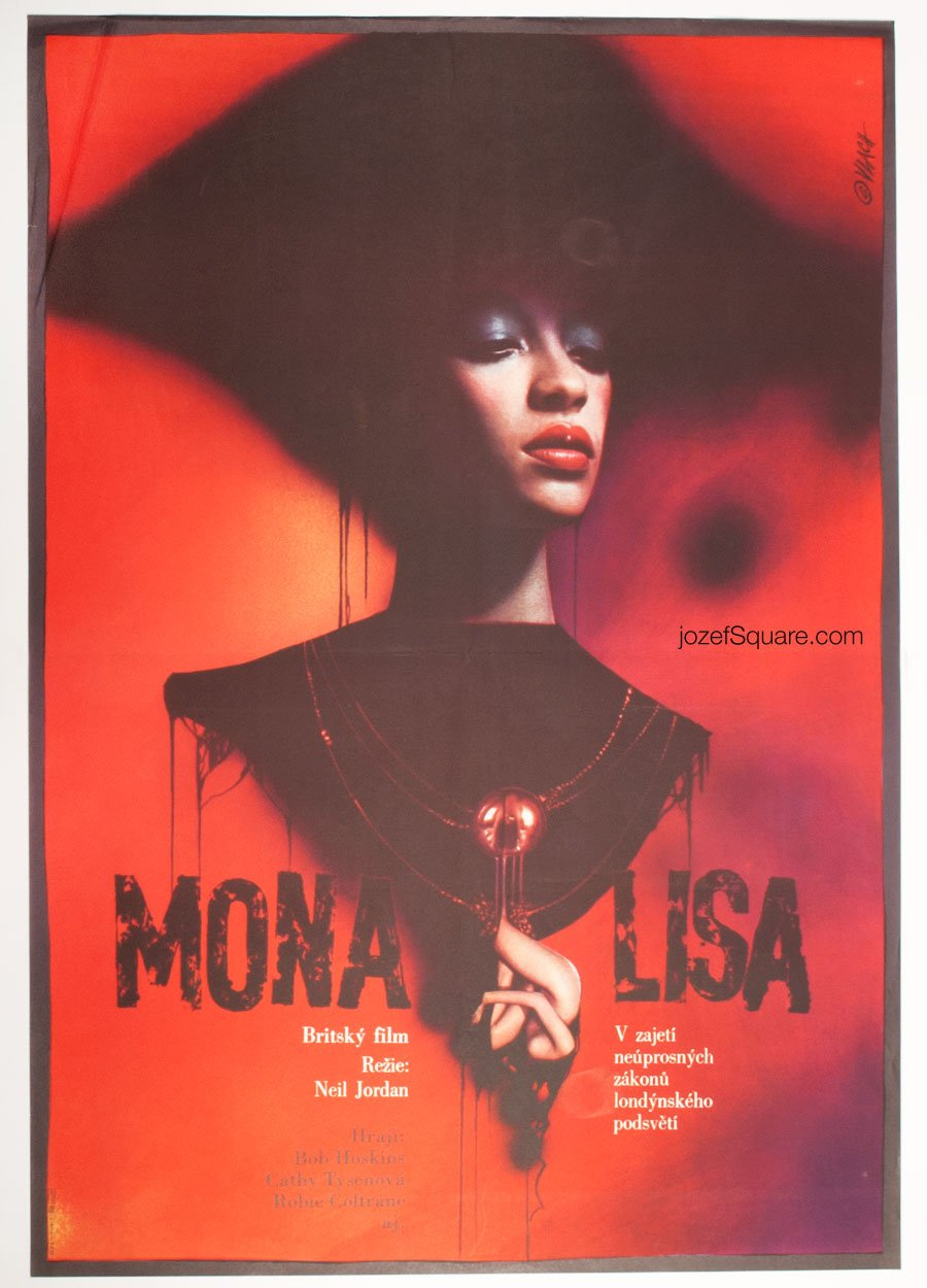 Movie Poster, Mona Lisa, Zdenek Vlach