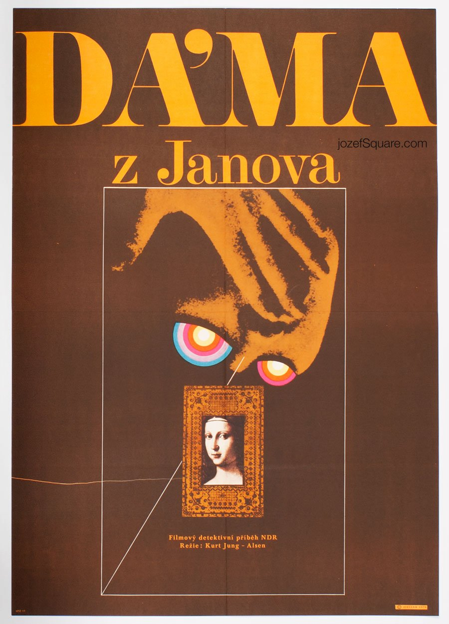 Movie Poster, Lady of Genoa, Zdenek Ziegler
